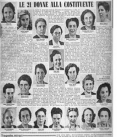 foto donne costituente